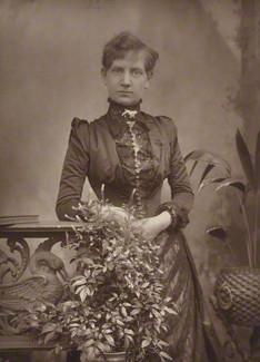 NPG Ax5458; Alice Ann Cornwell (later Mrs Stannard Robinson) by Herbert Rose Barraud, published by  Eglington & Co
