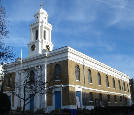 st georges church KT